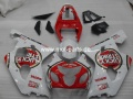GSX R 600/750 Bj. 04-05 Lucky Strike white red