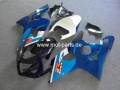 GSX R 600/750 Bj. 04-05 blue with cover