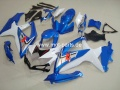 GSX R 600/750 Bj. 08-10 blue white 3