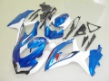 GSX R 600/750 Bj. 08-10 blue white 4